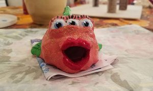 Blinky the three eyed fish from the Simpsons